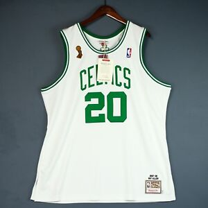 100% Authentic Ray Allen Mitchell & Ness Celtics 08 Finals Jersey Size 52 2XL