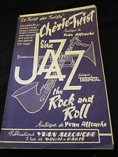 Partition Chérie Twist Allouche Série Jazz The rock and Roll Music Sheet