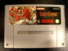SECRET OF EVERMORE Super Nintendo SNES Versione Francese PAL ○○○○○ COMPLETO