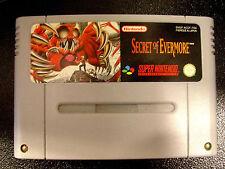 SECRET OF EVERMORE Super Nintendo SNES Versione Francese PAL ○○○○○ COMPLETO