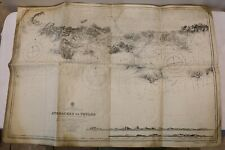 Nautical Admiral Chart of the Approaches to Toulon French-South Coast