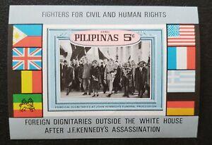 Philippines stamp Souvenir sheet mint with original gum