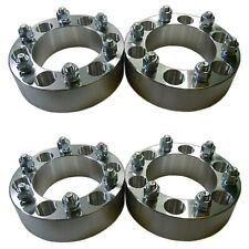 """Four 6x5.5 139.7 Wheel Spacers 12x1.5 1.5"""" fit 4Runner Tacoma Colorado Canyon H3"""