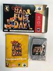 Nintendo 64 CONKER'S BAD FUR DAY N64 PAL