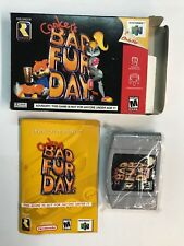 Nintendo 64 CONKER'S BAD FUR DAY N64 PAL