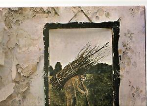"LED ZEPPELIN IV - 4 SYMBOLS.RARE U.S.""GENUINE"" 1971 (1ST PRESS) LP & INN/SL.EX"