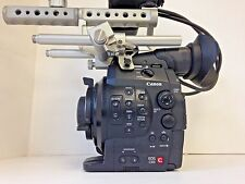 Canon Cinema EOS C300 PL Mount Camcorder with Upgraded handle & Accessories