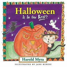 Halloween, Is It for Real? by Harold Myra (2005, Board Book)