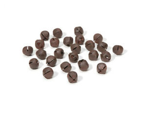 SALE - 25 Rusty 9mm Jingle Bells for Crafts