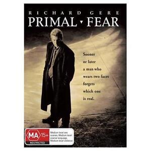 PRIMAL FEAR DVD Richard Gere Movie Edward Norton Crime Thriller Mystery AUS R4