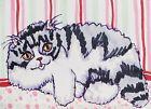 Persian Relax 8x10 Cat Pop Art Giclee Print Collectible Signed Artist KSams