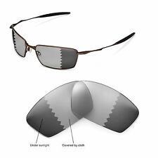 New Walleva Polarized Transition/Photochromic Lenses For Oakley Square Whisker