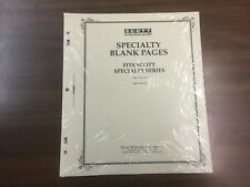 1 Pack Of SCOTT Blank Pages For Specialty Albums - Border A - #ACC110