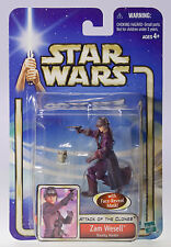 MOC STAR WARS Zam Wesell Bounty Hunter Episode 2 Attack Clones Figure NIP MOSC