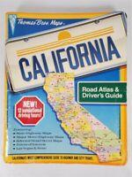 Thomas Bros Maps 1989 Revised 7th Edition California Road Atlas & Driver's Guide