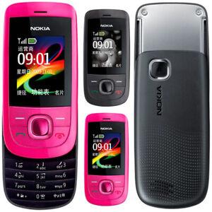 Original Unlocked Nokia 2220 Slide 2220s Cellular 3.2MP MP3 Cell Phone Bluetooth