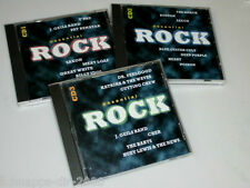 ESSENTIAL ROCK 3 CD'S MIT DEEP PURPLE SAXON BILLY IDOL UFO HAWKWIND BOSTON PILOT