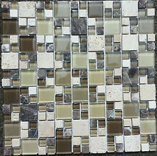 MOSAICS. Glass Marble and Travertine Mosaic tiles