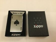 Brand new boxed zippo lighter lucky ace