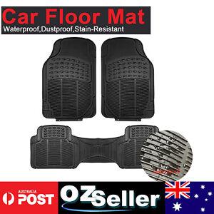 Deep Dish Rubber Car Floor Mats For Mitsubishi Outlander Pajero ASX Challenger
