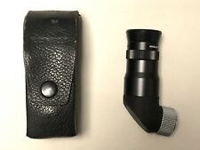 Konica Angle-Magnifinder AR 2 Right Angle View Finder Viewfinder w/ Leather Case