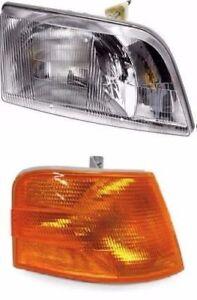 VOLVO VNL 300 VNM 200 SERIES 2000-2011 Truck Headlight with Corner RIGHT