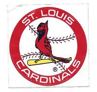 "Vintage 4"" St. Louis Cardinals Unpeeled Window Sticker"