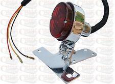 Custom, Chopper, Bobber Rear Stop/Tail Light Chrome