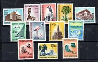 South West Africa 1961 set to 50c LHM SG171-184 WS15704