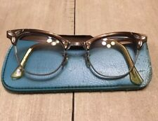 👓VINTAGE RISO Alum 12KT GF 22 CATS EYE GLASSES Bi-focal Glasses Beautiful 👓