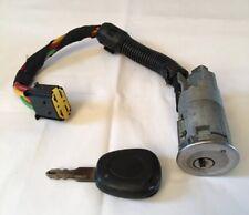 Renault Megane - Scenic Ignition Barrel & Key Mk1 1996-2003 Good Working Order