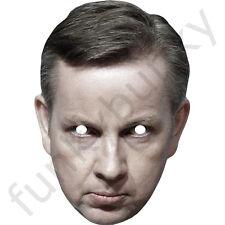Michael GOVE politico Celebrity CARTA MASCHERA-tutte le nostre maschere sono pre-tagliati!