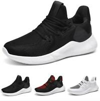 Mens Outdoor Running Leisure Sneakers Shoes Gym Mesh Breathable Ultralight New B