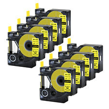 8pk For Dymo Rhino 42005200 Heat Shrink Tube 18054 Industry Label Tape 38x5