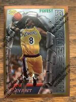 1996 Topps Finest Apprentices Kobe Bryant RC Rookie W/ Coating #74