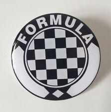 18mm  Resin 3D Formula Steering Wheel Or Wheel Cap Sticker Badge - Cooper Mini