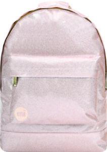 Mi-Pac Classic Backpack - Glitter Champagne