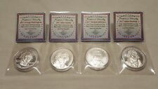 1oz Silver Shield 1st Four Coins The Presidential Series .999 Silver Round Coin