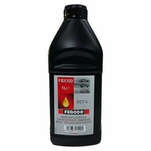 Ferodo FBX100 Liquide de Frein DOT4 1 L