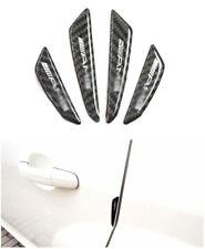 AMG Logo Carbon fiber Sticker Protector Anti-collision Glue Door Strip For Benz