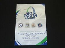 2016 UEFA YOUTH LEAGUE FINAL WEEK  OFFICIAL PROGRAMME