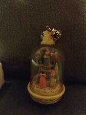 Karen Haun Enesco Christmas Globe Ornament With Bible Verse
