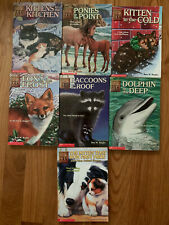 Animal Ark: Lot Of 7 Scholastic Books: #1,10,13,18,21,22 + Nine Stories in One
