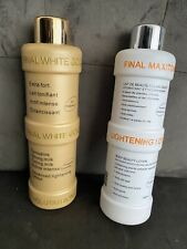 FINAL MAXITONE GOLD and WHITE SKIN LIGHTENING Lotion - Expiry 2023