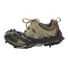 Pair 8-Teeth Crampons Gripper Antislip Ice Snow Climbing Shoe Spikes Chain