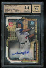 2015 BOWMAN CHROME SERIES NEXT SUPERFRACTOR ADDISON RUSSELL AUTO 1/1 BGS 9.5