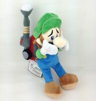 "Super Mario Bros Luigi's Mansion 2 Luigi Soft Plush Toy Stuffed Animal Doll 9"""