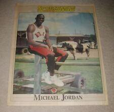 1984Michael Jordan 1st Chicago Bulls POSTER EVER NBA NIKE AIR Basketball Shoe RC