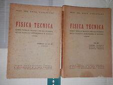 FISICA TECNICA Vol 3 Termo Tecnica Ottica Tecnica Acustica Tecnica FIGURE 1948