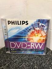 Phillips DVD+RW 120min 4.7Gb Recordable DVD